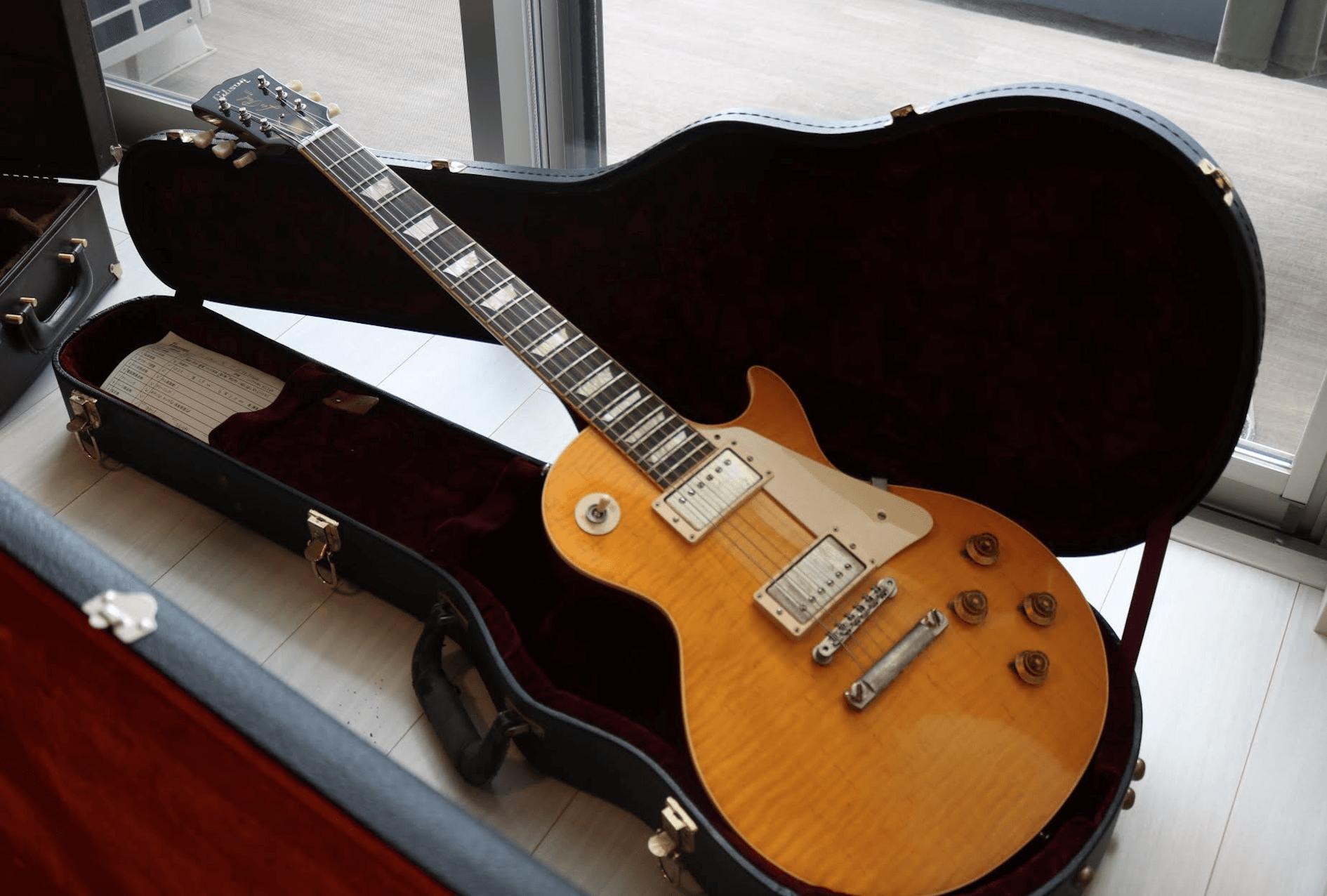 私が売ったギブソンのエレキギター