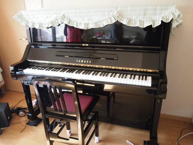 私が査定依頼したピアノ