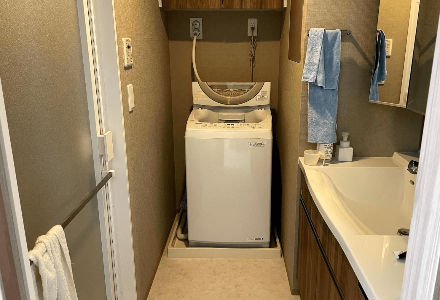 TOSHIBAの洗濯機